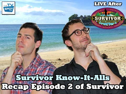 Artwork from the first Episode of Survivor: Know-It-Alls