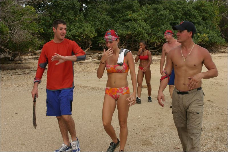 Rob Cesternino and Boston Rob on Survivor All-Stars