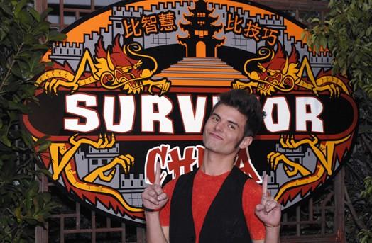 Survivor China winner, Todd Herzog