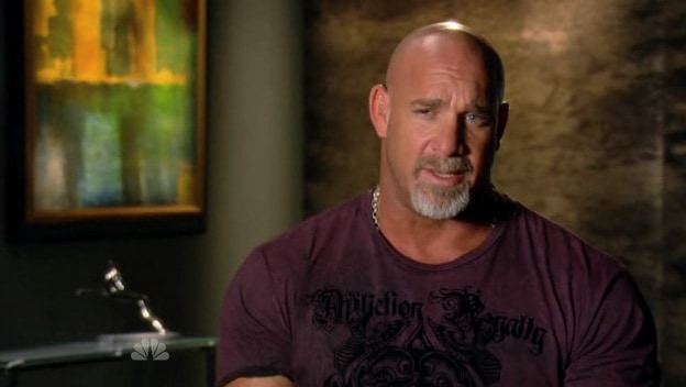 Bill Goldberg from the Celebrity Apprentice