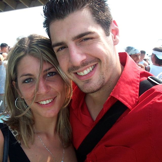 Nicole and I during the summer of 2003