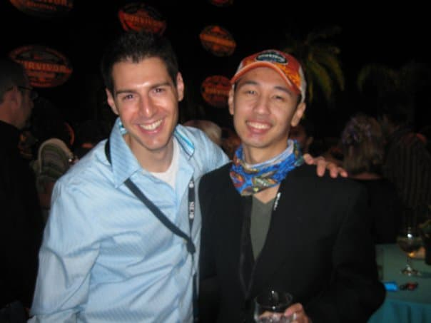 Rob Cesternino and Ken Hoang from Survivor