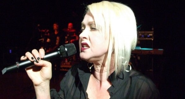 Cyndi on Stage