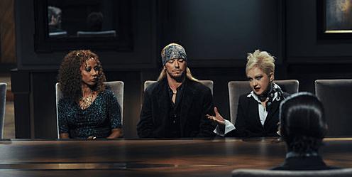Holly Robinson Peete, Bret Michaels and Cyndi Lauper
