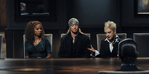 Holly Robinson Peete, Bret Michaels and Cyndi Lauper