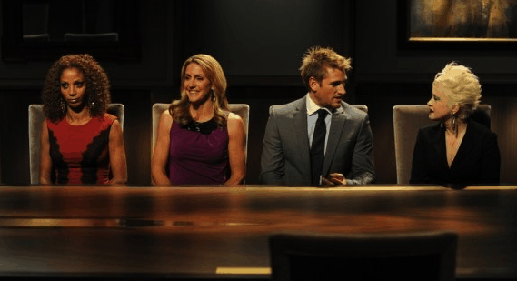 Summer Sanders, Curtis Stone, Holly Robinson Peete and Cyndi Lauper on Celebrity Apprentice