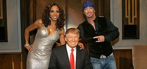 Holly Robinson Peete, Donald Trump and Brett Michaels