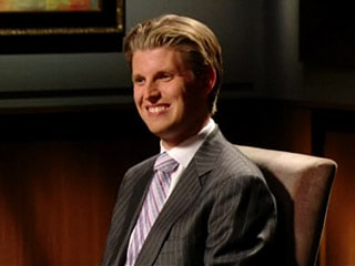 Eric Trump on Celebrity Apprenticy