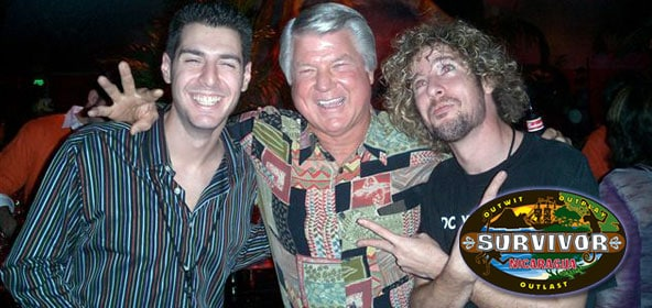 Survivor Rob Cesternino, Jimmy Johnson & Jonny Fairplay