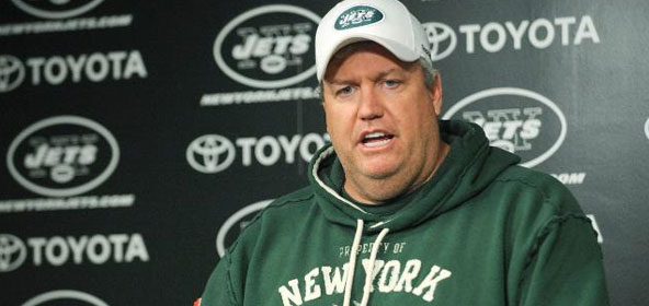 Rex Ryan of the Jets on HBO's Hard Knocks