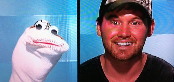 Big Brother Lane and His Sock Puppet