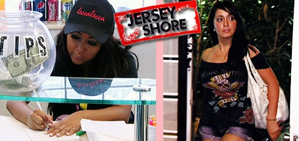 Snooki makes a Wishlist and Angelina leaves on the Jersey Shore
