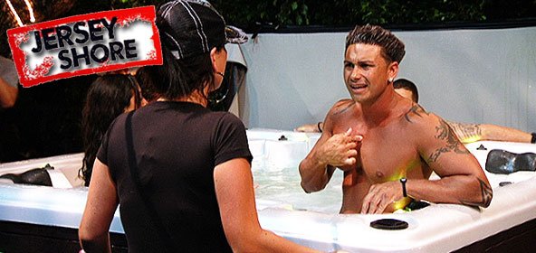 Pauly D and J-Woww fight in the Jersey Shore finale