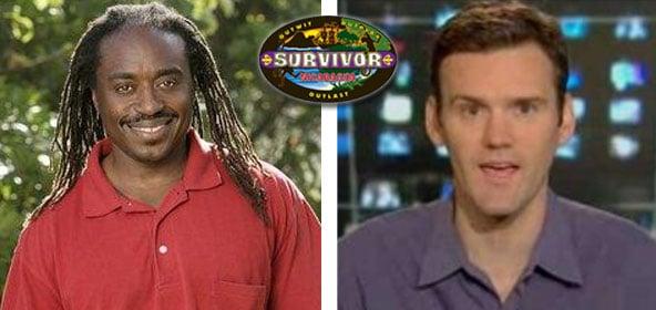 Survivor Russell Swan and EW's Dalton Ross