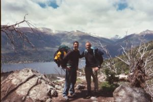 Rob Cesternino and Rudy Boesch in Patagonia