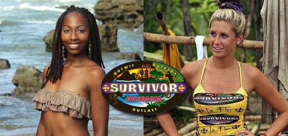 Naonka and Purple Kelly from Survivor Nicaragua