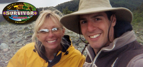 Survivors Tina Wesson and Rob Cesternino