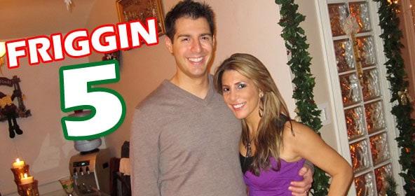 Rob Cesternino and Nicole Cesternino