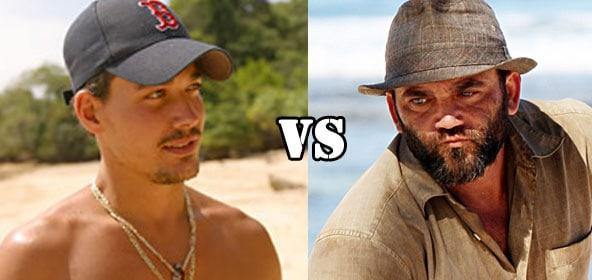 Boston Rob Mariano vs. Russell Hantz