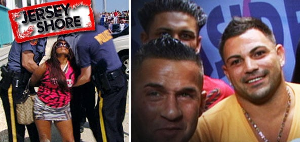 Snooki gets arrested and a Fake Ronnie on Jersey Shore.