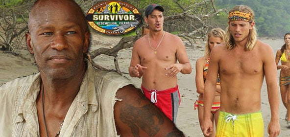 Phillip Sheppard, Boston Rob Mariano & Matt Elrod on Survivor Redemption Island