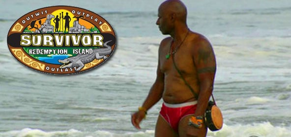 Phillip Sheppard commits a crime of fashion on Survivor Redemption Island