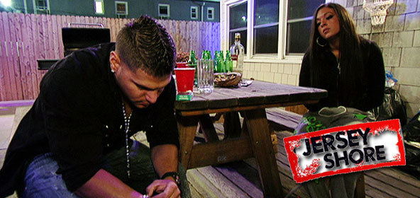 Ronnie and Sammi fight over BlackBerry Messenger conversation with Arvin on Jersey Shore