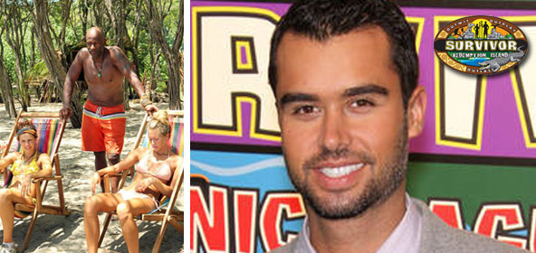 Matthew Sash Lenahan on Phillip Sheppard and the cast of Survivor Redemption Island
