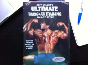 Jeff Willette's Ultimat Back & Ab Training DVD