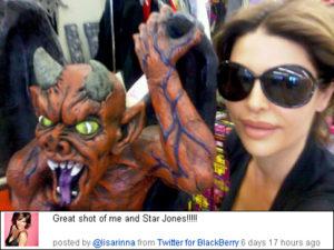 Lisa Rinna mocks Star Jones on Twitter