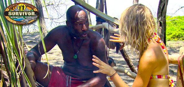 Phillip Sheppard and Andrea Boehlke on Survivor Redemption Island