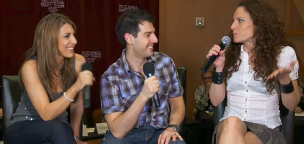 Nicole Cesternino, Rob Cesternino & Jerri Manthey talking Survivor at the Pechanga Resort & Casino