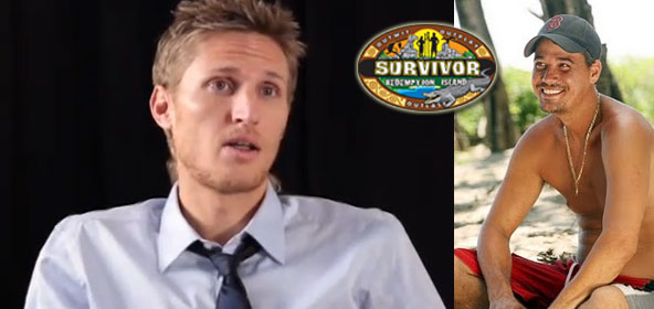 Tyson Apostol and his survivor buddy, Boston Rob Mariano