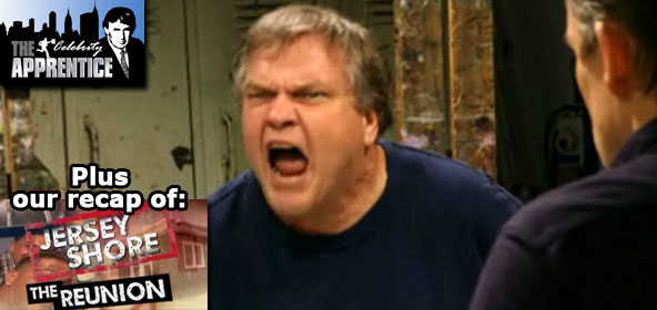 Meat Loaf loses it on the Celebrity Apprentice