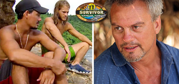 Marty Piombo on Survivor Redemption Island