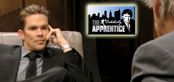 Mark McGrath battles with Gary Busey on the Celebrity Apprentice