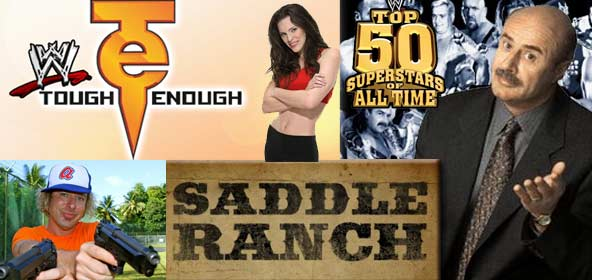Jonny Fairplay on WWE Tough Enough, Saddle Ranch, Dr. Phil and The Top 50 WWE Supertars of all-time