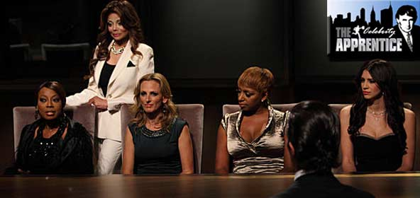 Star Jones, Latoya Jackson, Marlee Matlin, Nene Leakes and Hope Dworaczyk on Celebrity Apprentice