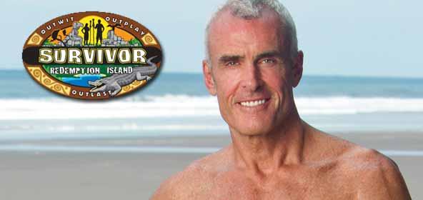Steve Wright from Survivor Redemption Island