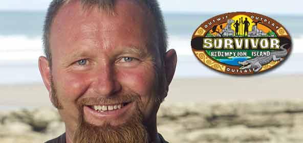 Ralph Kiser from Survivor Redemption Island