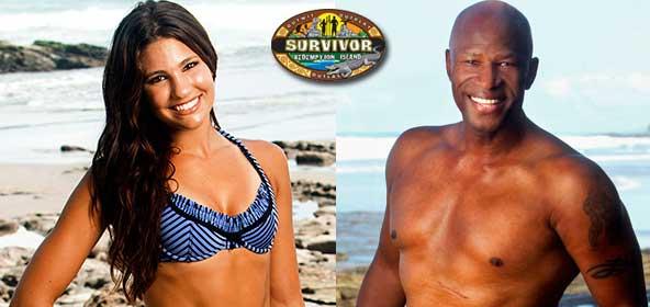 Natalie Tenerelli and Phillip Sheppard from Survivor Redemption Island