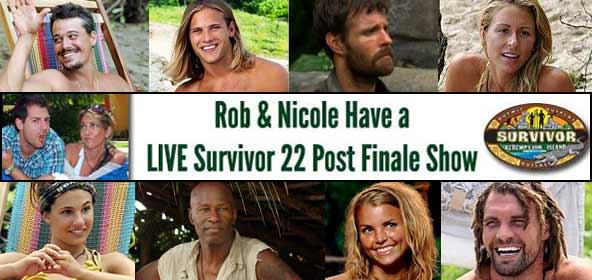 Rob Cesternino hosts a Survivor Redemption Island Post-Finale Live Show