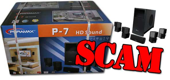 Don't be scammed by the Paramax P-7 sound system