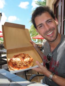 Rob Cesternino Has a Pizza