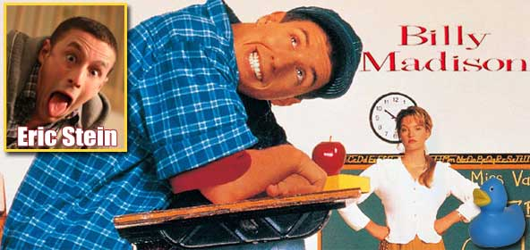 Rob Has a Billy Madison Podcast with Eric Stein