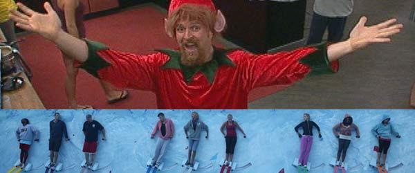Adam Poch as an Elf on Big Brother 13