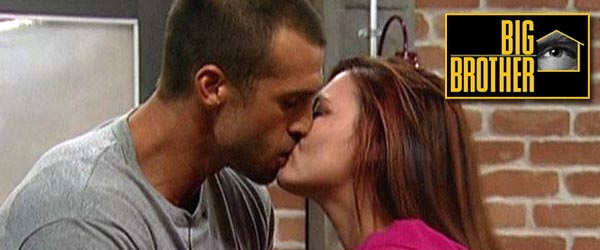 Brendon & Rachel aka Brenchel Kiss before their breakup in the game on Big Brother