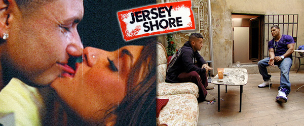 Pauly D & Deena Nicole Kiss and The Situation reveals his hookup with Snooki to Ronnie on the season premiere of Jersey Shore 4