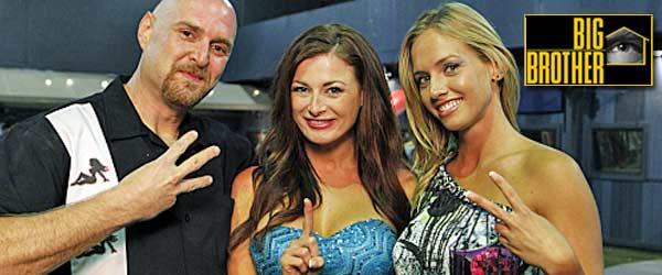 Rachel Reilly wins Big Brother 13, alongside 3rd place finisher Adam and runner up, Porsche Briggs