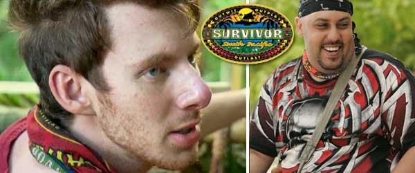 Survivor south pacific's John Cochran and Billy Garcia
